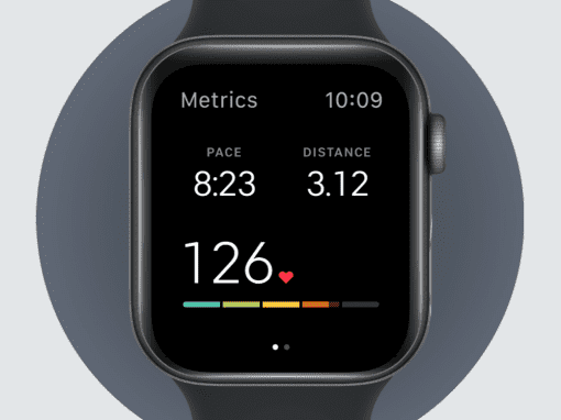 Peloton Watch App Interface