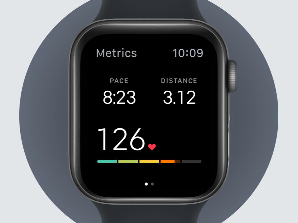 Peloton Watch App Interface