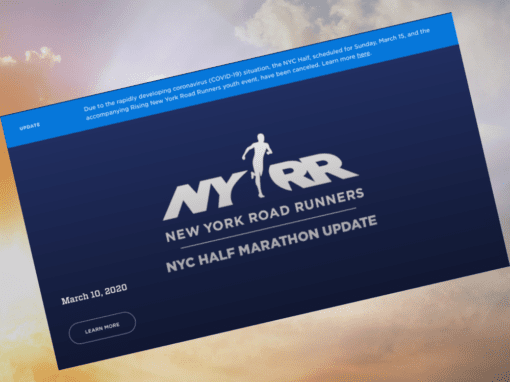 NYRR New York Road Runners NYC Half Marathon Update